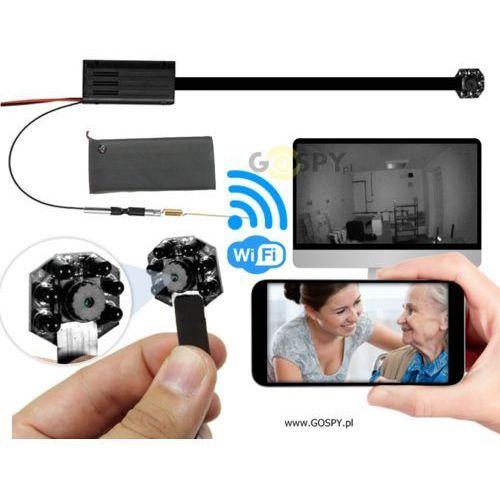 Kamera do ukrycia WiFi NOC IR 4K (Podgląd na żywo)