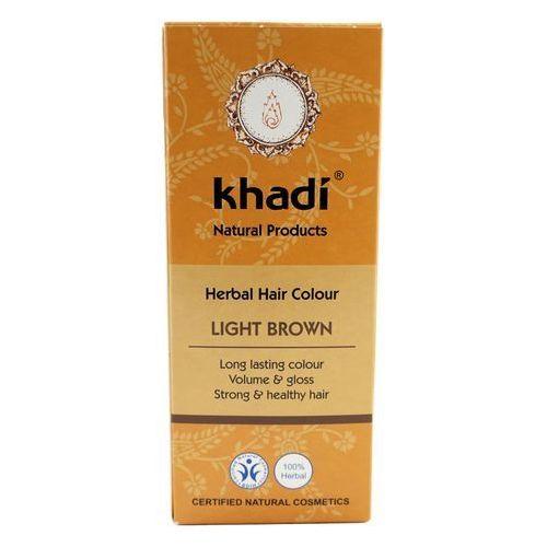 Khadi - henna jasny brąz