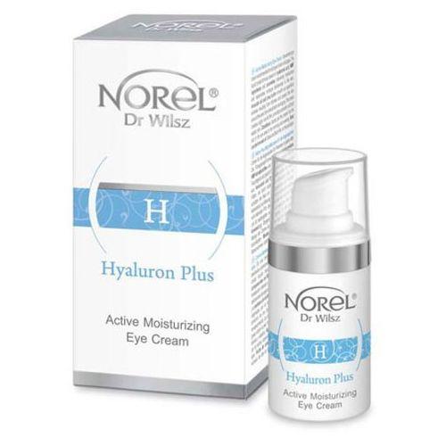 Norel (Dr Wilsz) HYALURON PLUS ACTIVE MOISTURIZING EYE CREAM Aktywnie nawilżający krem pod oczy (DZ217)