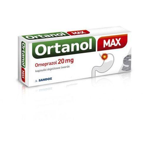 Kapsułki ORTANOL MAX 20mg x 7 kapsułek - 7 kapsułek