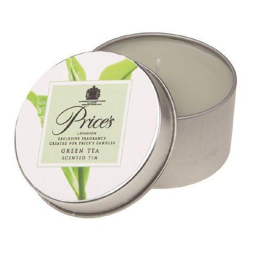 Price's świeczka zapachowa w puszce herbata zielona, 3 szt