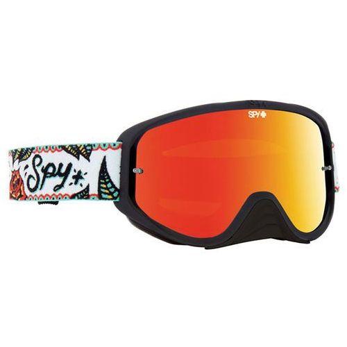 Gogle narciarskie woot race calaveras - smoke w/ red spectra(+clear anti fog w/ posts) Spy