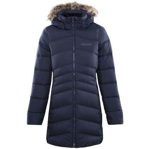 Marmot Montreal Płaszcz Kobiety, midnight navy L 2020 Kurtki zimowe i kurtki parki, kolor niebieski