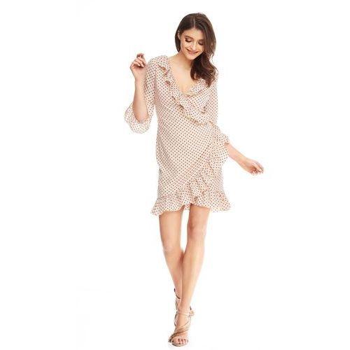 Sukienka Margot w kolorze waniliowym