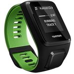 TomTom Runner 3 Cardio - zegarek sportowy z GPS, czujnikiem tętna i pamięcią 3GB (czarny/zielony)