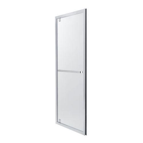 Cooke&lewis Drzwi prysznicowe wahadłowe zilia 80 x 200 cm inox/szkło transparentne (3663602769866)