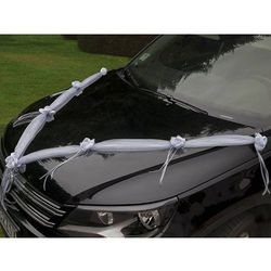 Dekoracje ślubne samochodu AP PartyShop Congee.pl