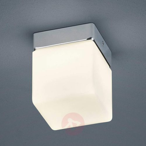 Sześcienna Lampa Sufitowa Led Keto Do łazienki Helestra