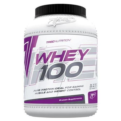 Whey 100 600 - strawberry Trec