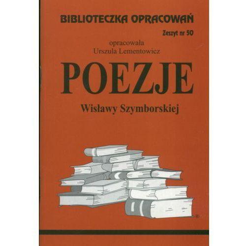Biblioteczka Opracowań Poezje Wisławy Szymborskiej, Lementowicz (Oprac.), Urszula