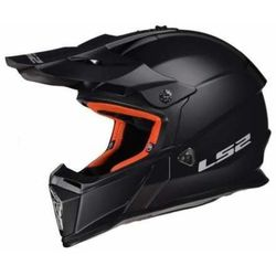 Ls2 Kask mx437 fast solid matt black