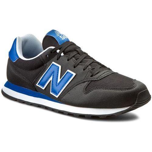 Sneakersy NEW BALANCE - Classics GM500LY Czarny