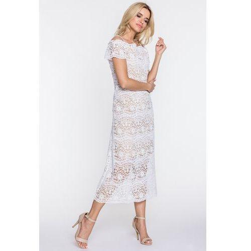 8dd9a0989c Biała koronkowa sukienka (Paola Collection) - sklep SkladBlawatny.pl