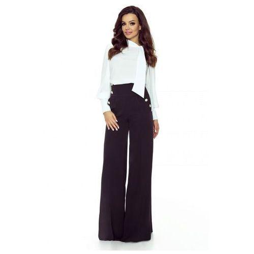 Szerokie spodnie z wysoką talią, w 5 rozmiarach