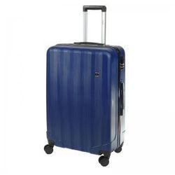 Dielle d90 blue walizka abs 4k l duża 76 cm