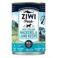 ZiwiPeak Daily Dog mokra karma dla psów z makrelą i jagnięciną 390g