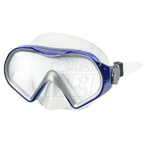 Maska do nurkowania Allright Baia Senior niebiesko-szara