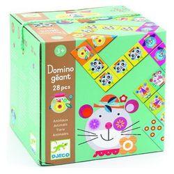 Kartonowe Domino Gigant Djeco - zwierzęta DJ08104, DJ08104