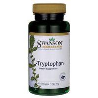 Kapsułki Swanson L-Tryptophan 500mg 60 kapsułek