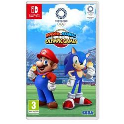 Nintendo Mario & sonic at the tokyo olympic games 2020 gra switch nintendo
