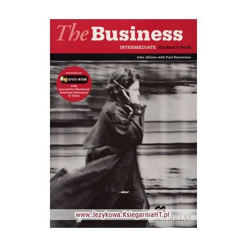 The business intermediate Student`s book + Dvd, oprawa miękka