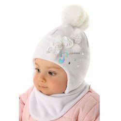 Czapka niemowlęca zimowa 5x35af marki Marika