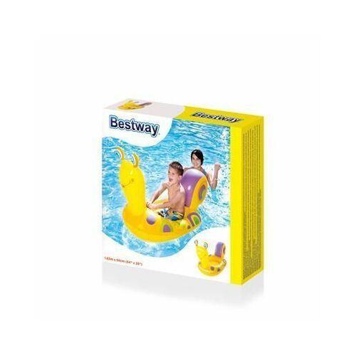Dmuchany basen ślimak dla dzieci bestway zółty marki Bastway