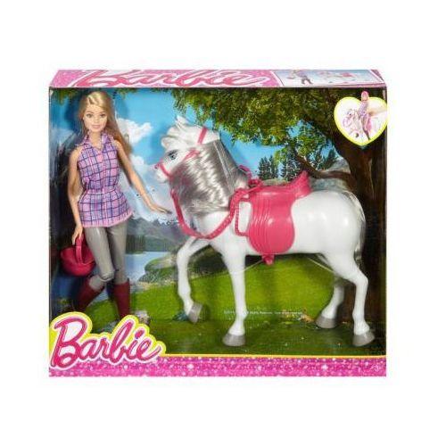 Lalka Barbie i Koń DHB68 Mattel