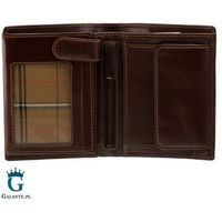 Klasyczny portfel męski visconti czarny lub brąz mz-3 rfid