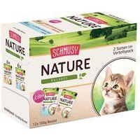 Schmusy Pakiet mieszany nature balance kitten, 12 x 100 g - pakiet mieszany| -5% rabat dla nowych klientów| darmowa dostawa od 99 zł