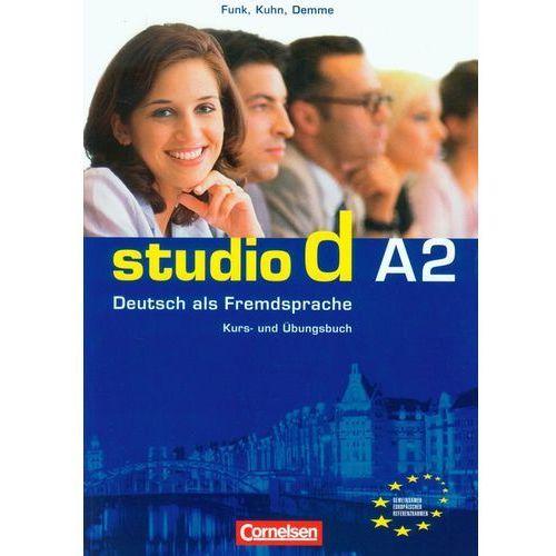 Studio d A2 Kurs- und Ubungsbuch, oprawa miękka