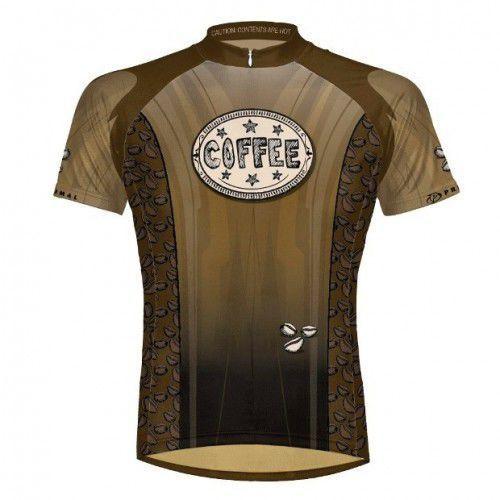 Super cena - koszulka rowerowa PRIMAL BUZZED - KAWA