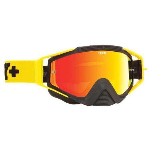 Spy Gogle narciarskie omen mx jersey yellow - smoke w/ red spectra (+clear anti fog w/ pos