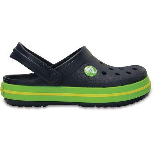 później najlepiej sprzedający się o rozsądnej cenie Crocband sandały dzieci zielony/niebieski 30-31 2018 sandały codzienne  (Crocs)