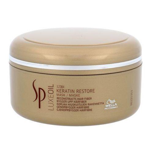 Wella professionals sp luxeoil maseczka odżywcza do włosów zniszczonych (keratin restore mask) 150 ml - Bardzo popularne