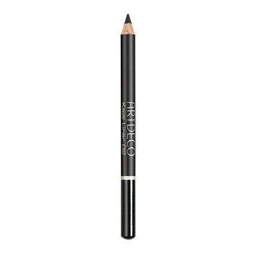 Kajal liner 1,1g w eyeliner odcień 02 black Artdeco - Świetny rabat