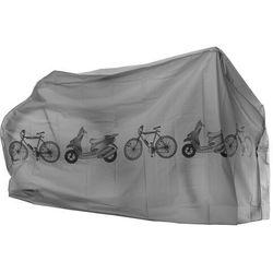 Pokrowiec wodoszczelny na rower 200x58x110 szary, P0481