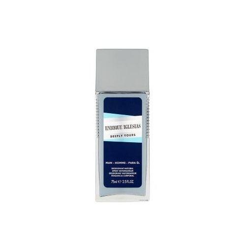 Enrique iglesias deeply yours man dezodorant 75 ml dla mężczyzn (3614220988948)