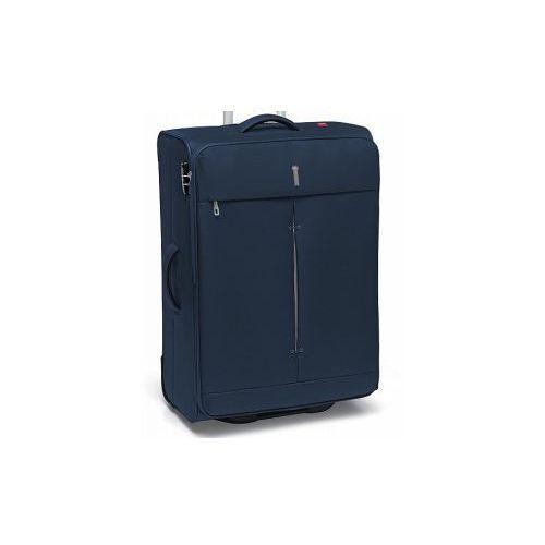 RONCATO walizka duża 2 koła z kolekcji IRONIK materiał nylon zamek szyfrowy TSA możliwość poszerzenia