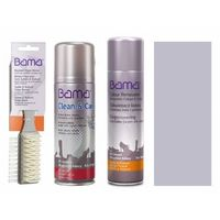 Zestaw do czyszczenia i pielęgnacji skóry zamsz nubuk bama 3w1 bezbarwny