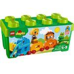 Lego DUPLO Pociąg ze zwierzątkami my first animal brick box 10863