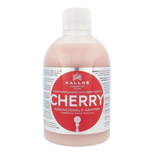KALLOS 1000ml Cherry Szampon kondycjonujący z olejem z pestek czereśni - Najtaniej w sieci