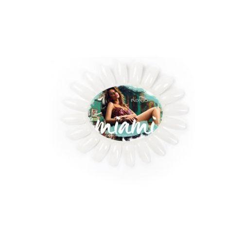 Indigo Wzornik owal mleczny Miami Collection Don`t Worry Beach Happy