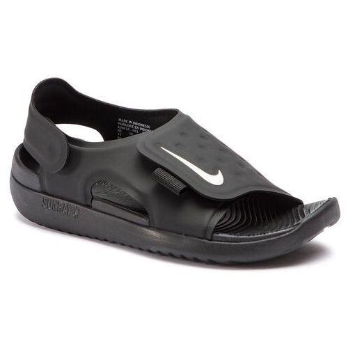 Sandały NIKE - Sunray Adjust 5 (GS/PS) AJ9076 001 Black/White