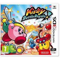 Nintendo Kirby: battle royale gra 3ds nintendo