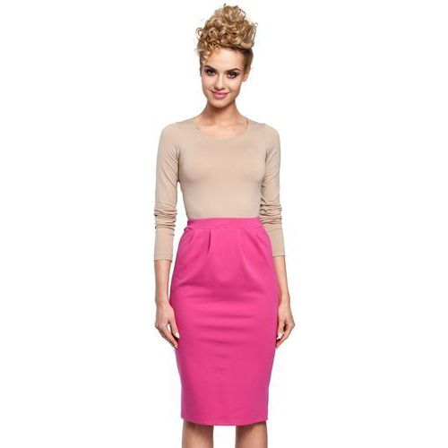 M288 Spódnica fuksja, kolor różowy