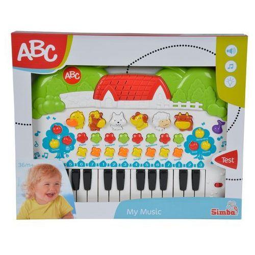 ABC Keyboard ze zwierzątkami, GXP-566937