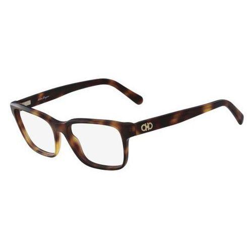 Salvatore ferragamo Okulary korekcyjne sf 2790 214