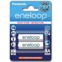 Panasonic  eneloop aa 1900 mah 2100 cykli 2szt. (5410853052623)