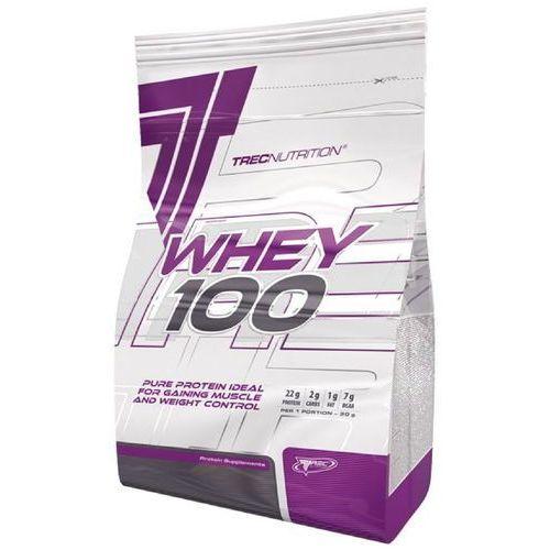 Białko Trec WHEY 100 900g o smaku czekoladowo-kokosowym - Czekoladowo-kokosowy